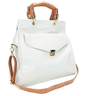 White Envelope Satchel - Beautiful!