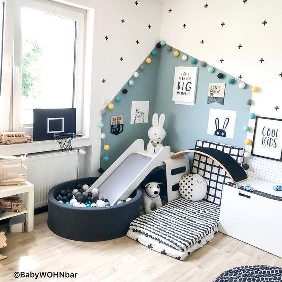 Entzückendes Bett für Kinderzimmer-Design