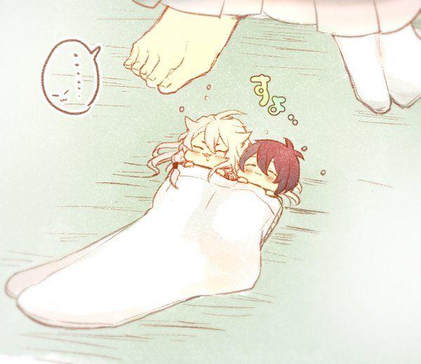 Kogitsunemaru|Mikazuki Munechika [Touken Ranbu]