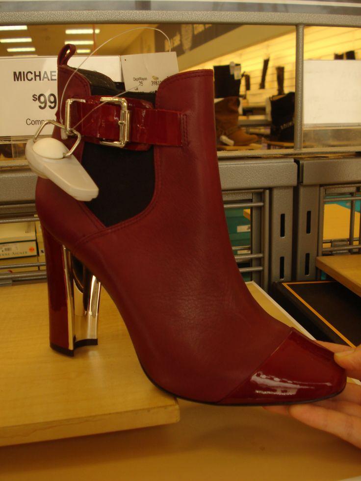 Burgundy Michael Kors boots!