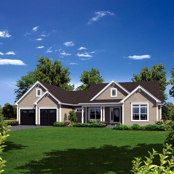 Country Ranch House Plans: Pinterest