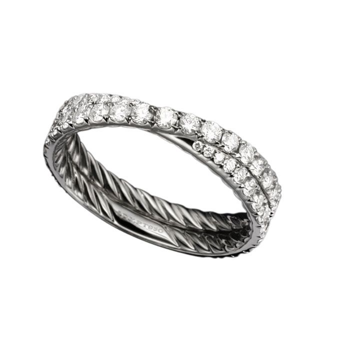 David Yurman Crossover Engagement Ring Price
