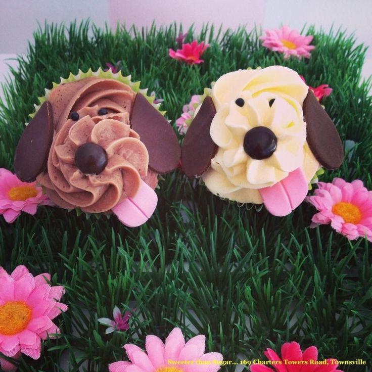Best 25+ Puppy Dog Cupcakes Ideas On Pinterest