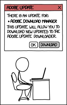 Geek Humor | All Future Adobe Updates
