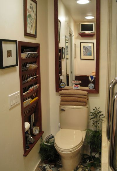 Recessed Bathroom Magazine Rack Woodworking Projects Plans