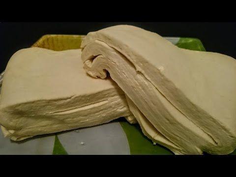 Вкусное слоеное тесто рецепт Секрета быстрого приготовления - YouTube
