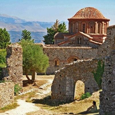 Mystras,Greece