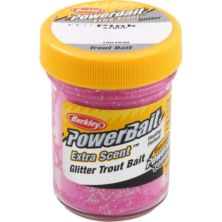 Berkley PowerBait Glitter Trout Bait, Pink