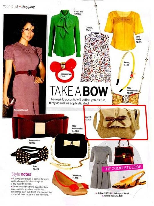 Femina's October issue covers us!