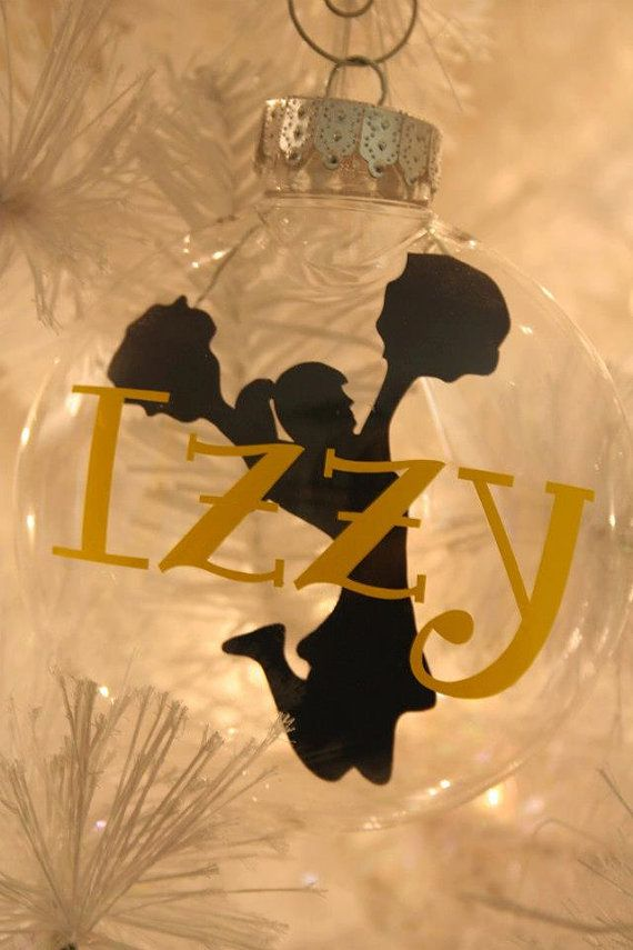 Personalized Flat Plastic Floating Ornament by SassyClassySouthern