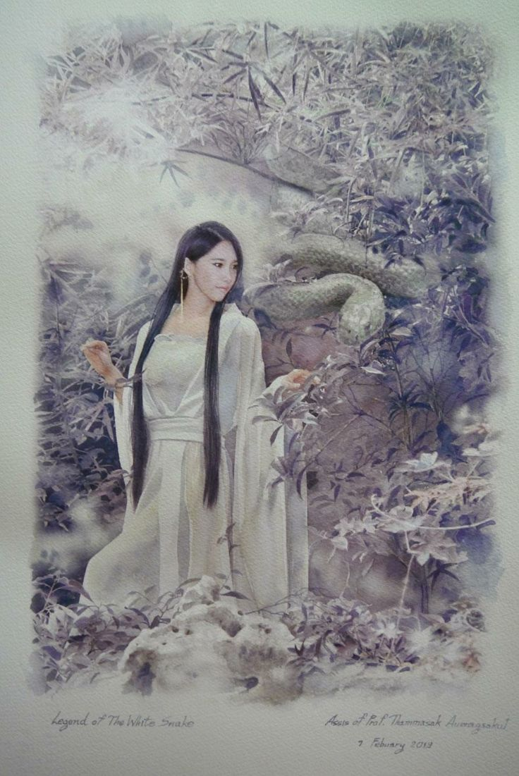 chinese legend of the white snake