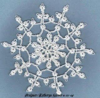 Missouri Snowflake  Free pattern - crochet