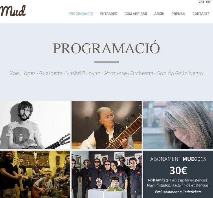 Mud, Festival Músiques Disperses 2015. Cafè del Teatre Municipal de l'Escorxador (Lleida). Del 12 al 15 de març