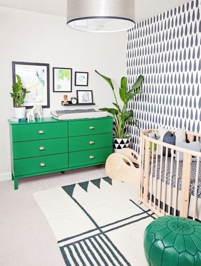8 Colorful Ways To Incorporate Greenery In A Nursery