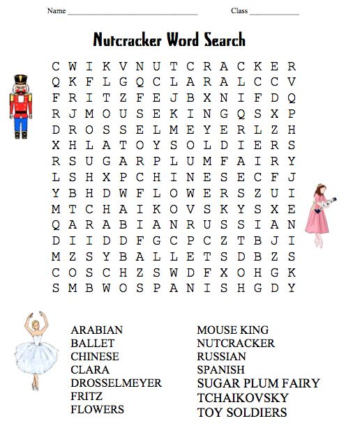 Handy image within nutcracker worksheets printable