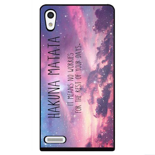 HAKUNA MATATA - HARD CASE / TPU - HUAWEI ASCEND P6 HOESJE