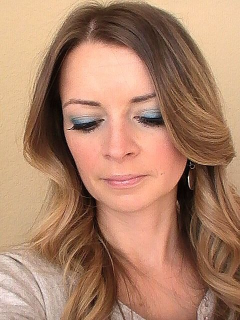 Holiday party  makeup video tutorial.  Using makeup from Target.