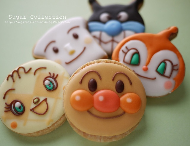 1000 images about anpaman on pinterest japanese cartoon for Anpanman cake decoration