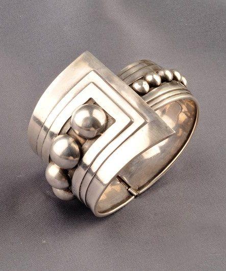 Bracelet   Gerardo Lopez.  Sterling silver
