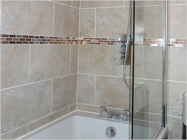 bathroom shower wall tiles large horizontal shower wall tile search 16413