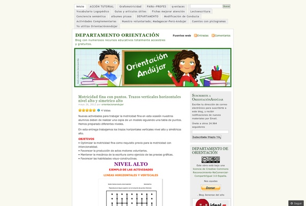 http://orientacionandujar.wordpress.com via @url2pin: Educational Resources, Todo Recursos, Infantics Todo