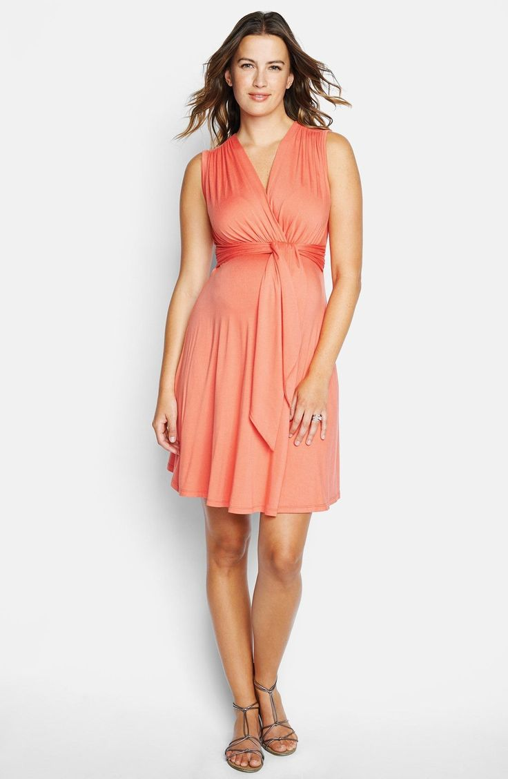 27 best maternity images on pinterest maternity styles tie front maternity dress ombrellifo Gallery