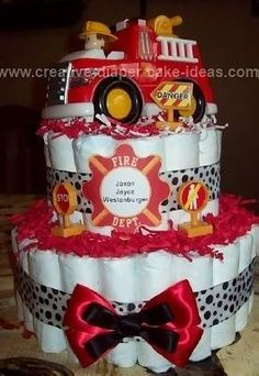 1000 Ideas About Firefighter Baby Showers On Pinterest