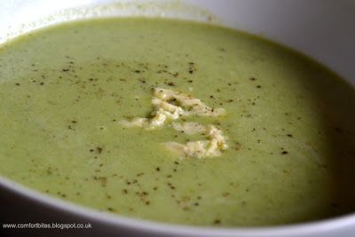 Comfort Bites: Broccoli and Stilton Soup