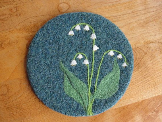 9 best Felting images on Pinterest | Felted wool, DIY and Embroidery