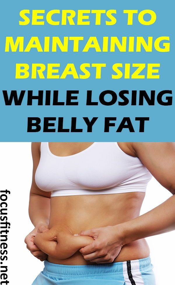 Does dieting also lose breast size