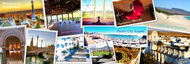 Spain: Vibrant Blend of Cultures, Cuisines & Landscapes  Its strategic location has triggered the unique blend of cultures in this full-of-life country. Unique traditions and folklore can be felt in every corner. Yoga retreats and training in Spain, meditation, windsurfing, Camino de Santiago, wine tours, tapas, flamenco, canary islands, ibiza, mallorca