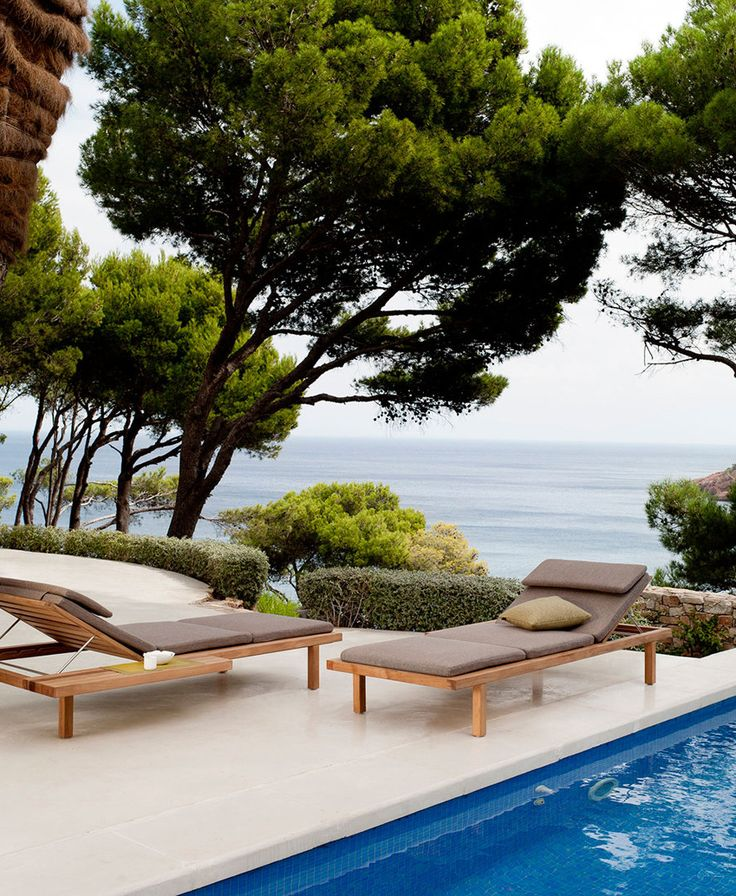 Tribù | Daybed | Lounge Chair | Wood | Design | Outdoor