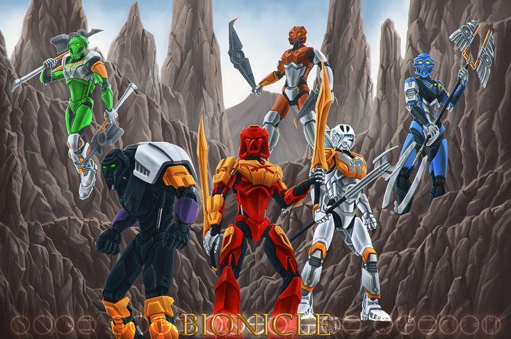 Bionicle 2015 by Ferain.deviantart.com on @deviantART