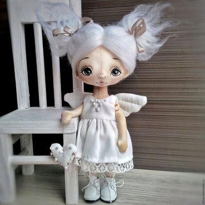 Fabric doll / Коллекционные куклы ручной работы. Ярмарка Мастеров - ручная…