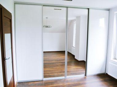 szafy zabudowane białe z lustrem - Szukaj w Google