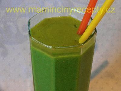 Zelené smoothie s avokádem