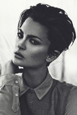 it it possible to have a completely slicked back pixie cut - Google Search