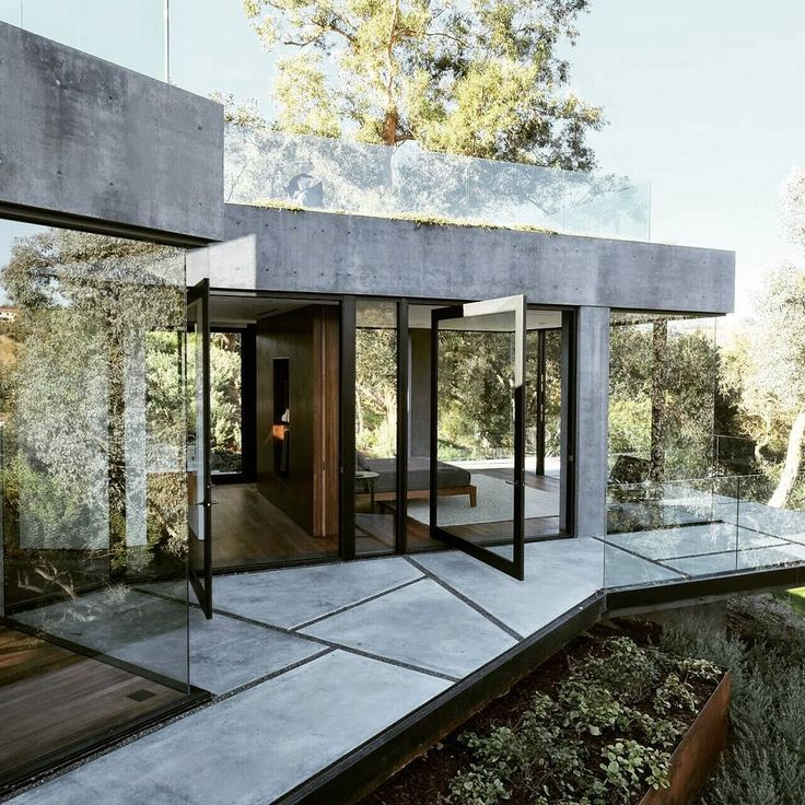 Front Elevation Modern House   Front Single Story Rear 2 Stories | Atrium  And Front Yard | Pinterest | House Front, Front Elevation And Modern Part 85