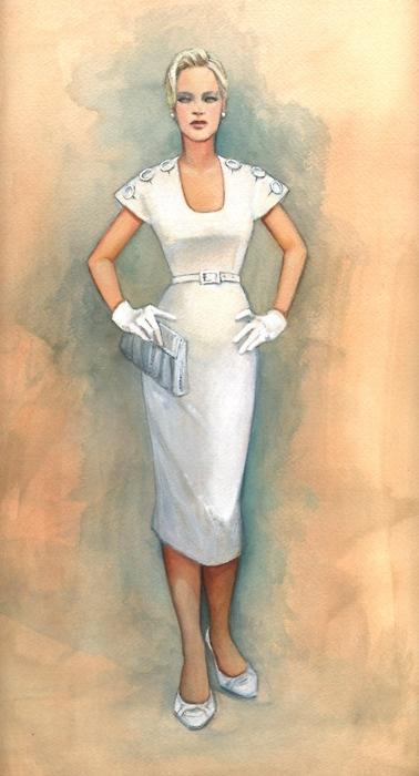 kate winslet's costume design for Revolutionary Road