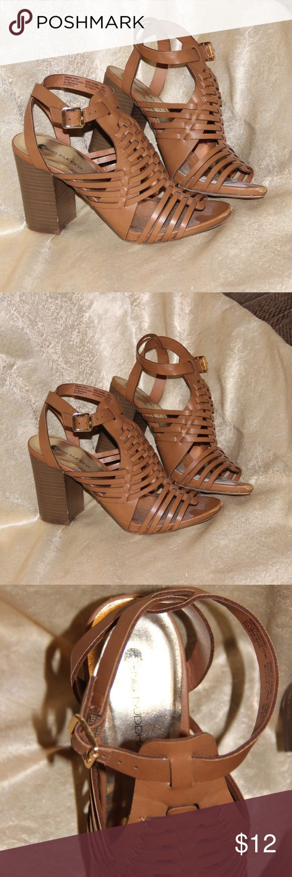 "Big Buddha Heels Brown MAKE AN OFFER!! Big Buddha Heels Brown Size 9  Pre-owned, but alot of life left 3"" heel Big Buddha Shoes Heels"