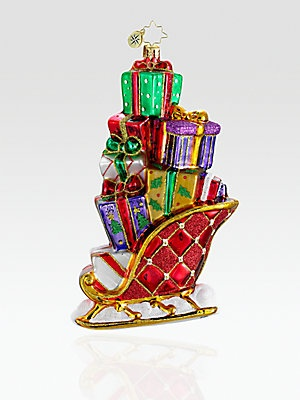 Christopher Radko Gifts on the Go Ornament