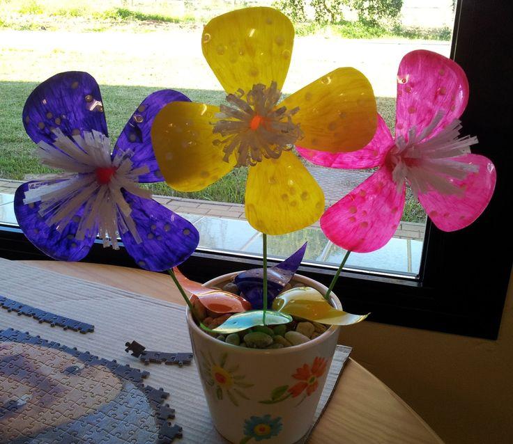 Flores con botellas de plástico en 10 minutos.mpg