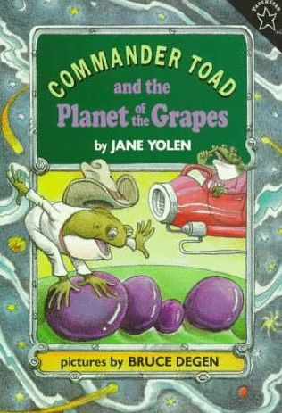 Commander Toad and the Planet of the Grapes by Jane Yolen. (not super easy)
