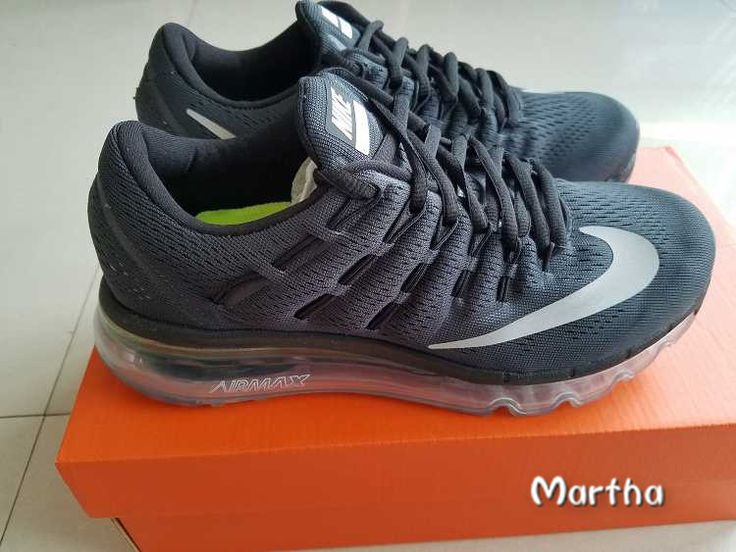 wholesale dealer c6df5 62e07 Get Nice Special Nike Air Max 2016 Black White Running Shoes Shipping With  DHL ...