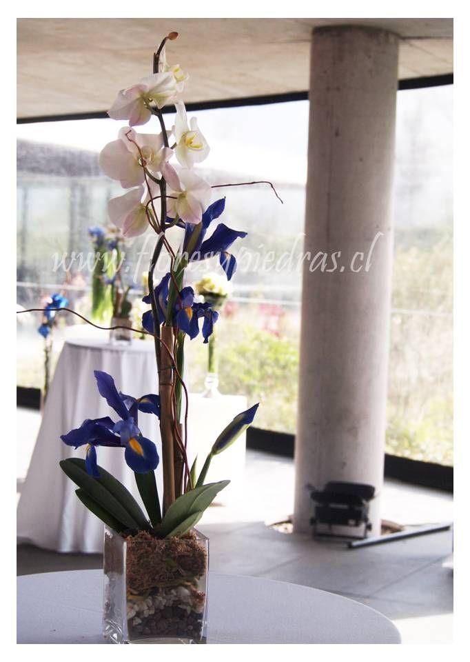 Ambientación by Flores y Piedras para productora BlowUp, evento Transelec