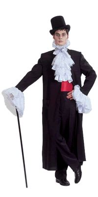 Midnight Stalker / Victorian Vampire Will fit most sizes Costume HIRE enquiries can be directed to sales@costumesnthings.com.au