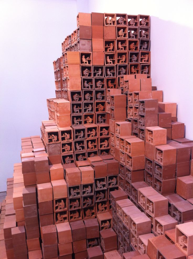 The Ibstock Brick Pavilion 'Take Stock' by Lawrence Epps