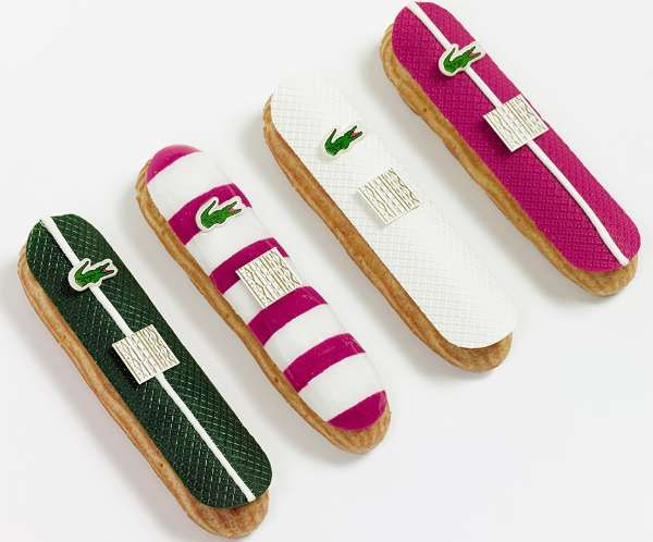 Lacoste : Chocolate Eclairs with FAUCHON