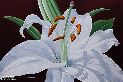 Dennis Magnusson, 'Shadows', 24'' x 36'' | Galerie d'art - Au P'tit Bonheur - Art Gallery