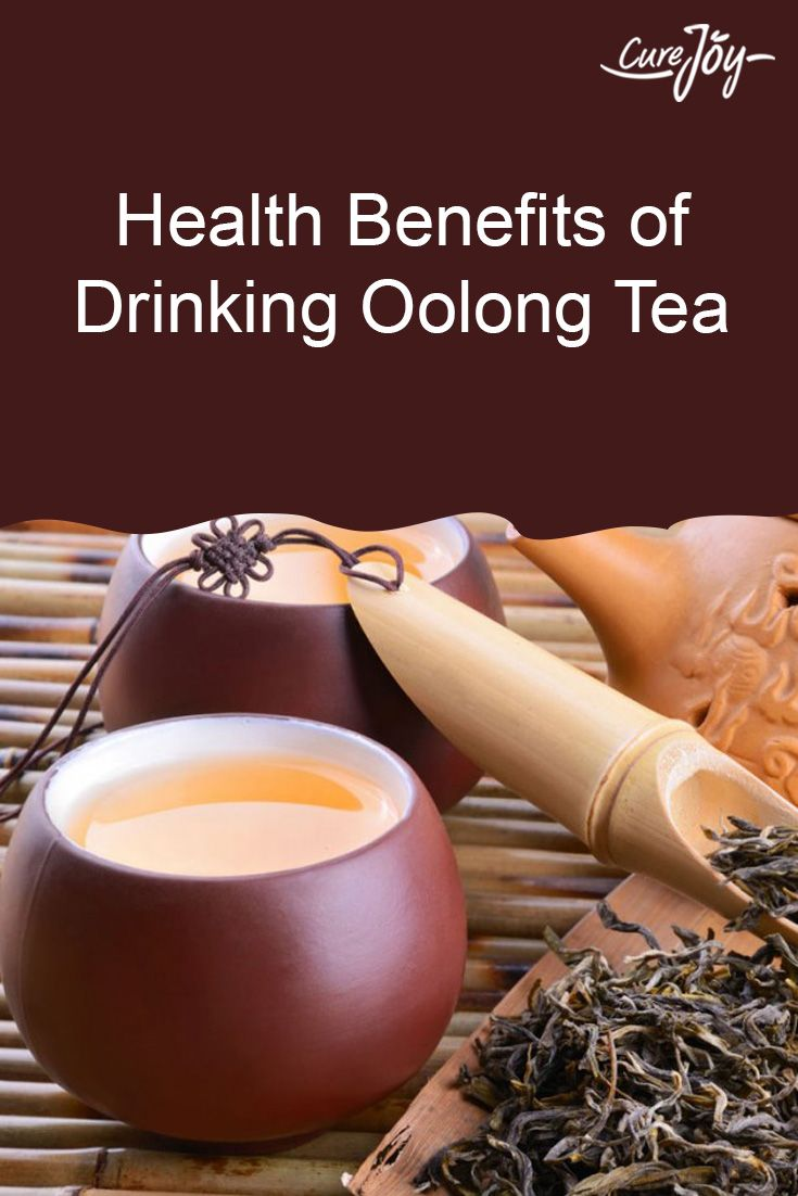Brew or steep teas for three minutes for a regular cup and up to five minutes for a stronger cup.  Oolong tea aides in fat metabolism.  Drink in the morning due to its caffeine content.  Drink 3 glasses a day, until desired weight loss is achieved and then drink one morning cup for maintenance.